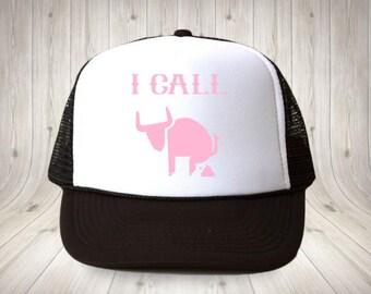 84aeb1a03d9 I call bullshit trucker hat I call bullcrap