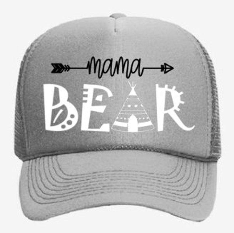 e33e09958c59f Mama bear trucker hat mom hat mama hat