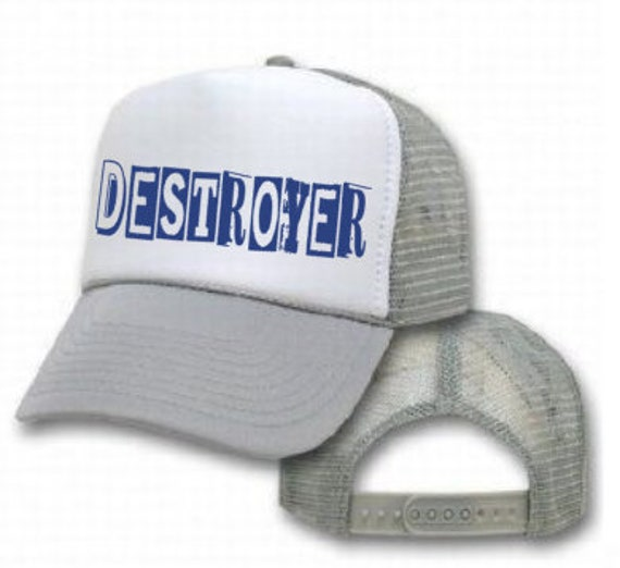 Destroyer children s trucker hat youth or toddler truckers  40a7a17642a