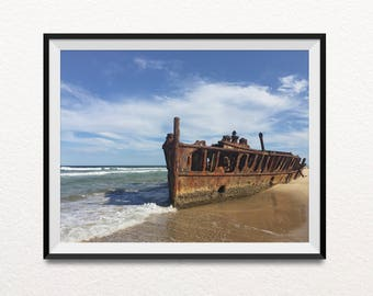 Boat print, Photography prints, Beach print, Ocean print, Indie decor, Photography, Home decor, Pictures, Landscape photography, Printbable
