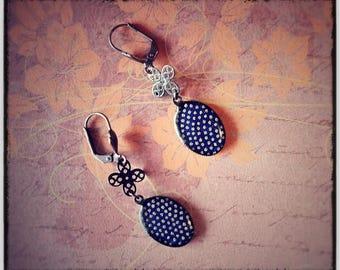 Earrings retro twilight