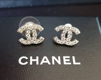 f67a4f6a1cc4 Genuine Chanel Sterling Silver Earrings
