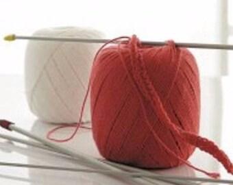 Tunisian crochet ball, size 3, 4 or 5 mm electives, brand Prym