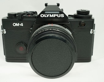 SERVICED!**Olympus OM-4 35mm camera with 50mm 1.8 F.ZUIKO** Excellent!