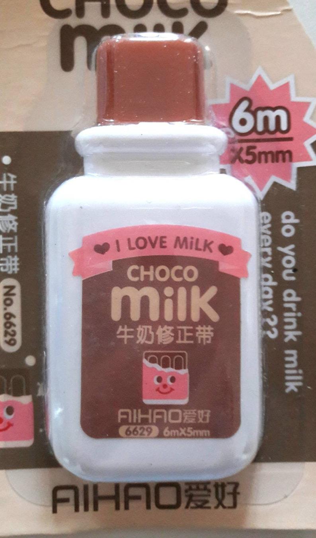 Correction tape kawai bottle I love Milk