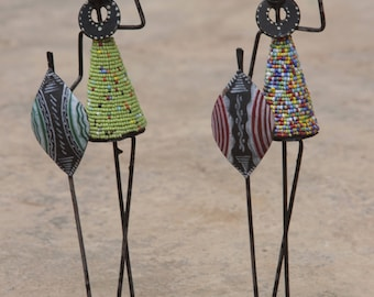 Maasai candle holder