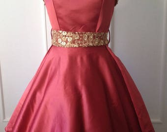 DESTASH! Vintage 50s evening dress