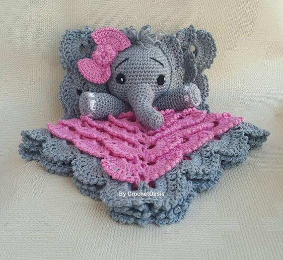Chevron Elephant Lovey | Crochet lovey, Crochet blanket patterns ... | 524x570