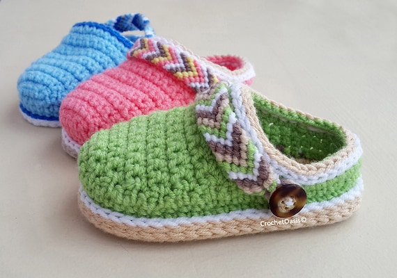CROCHET PATTERN Baby Shoes Crochet Booties Baby Clogs Etsy Extraordinary Baby Shoes Crochet Pattern