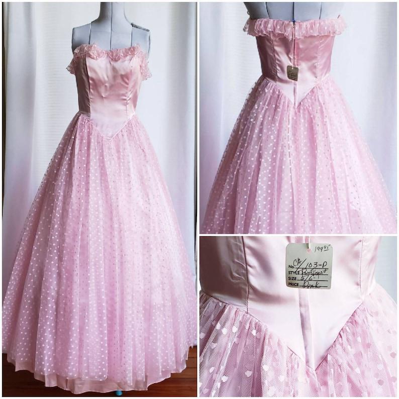 Vintage 50s Cupcake Prom Dress