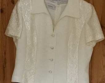 CONDICI Mother of the Bride/Older Bride Wedding Outfit - Size 16 - Worn once - VGC - Free P&P