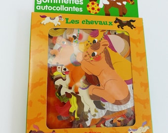 80 stickers stickers horses