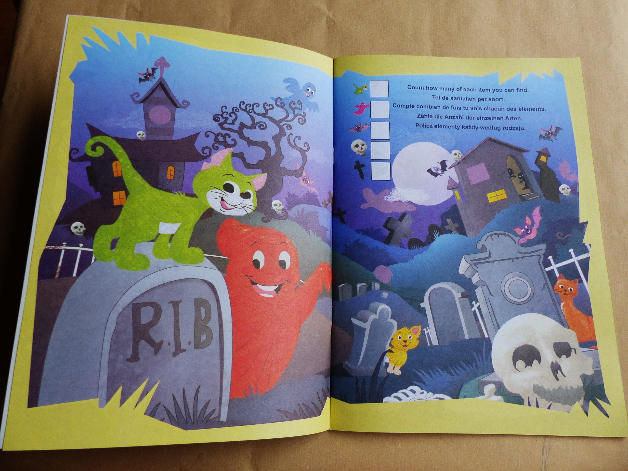 HALLOWEEN color y para colorear el libro actividad libro y ...