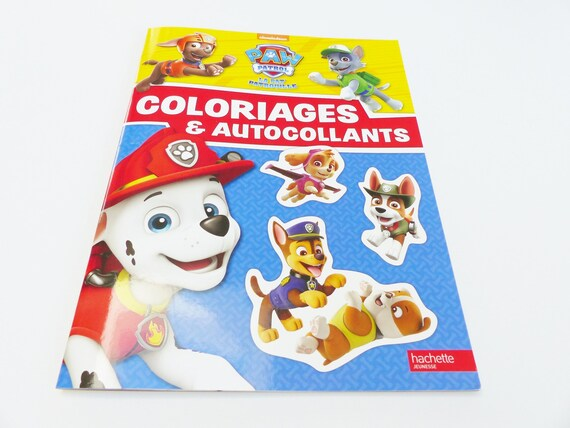 Items Similar To Pat Patrol Coloring Book And Sticker Paw Patrol