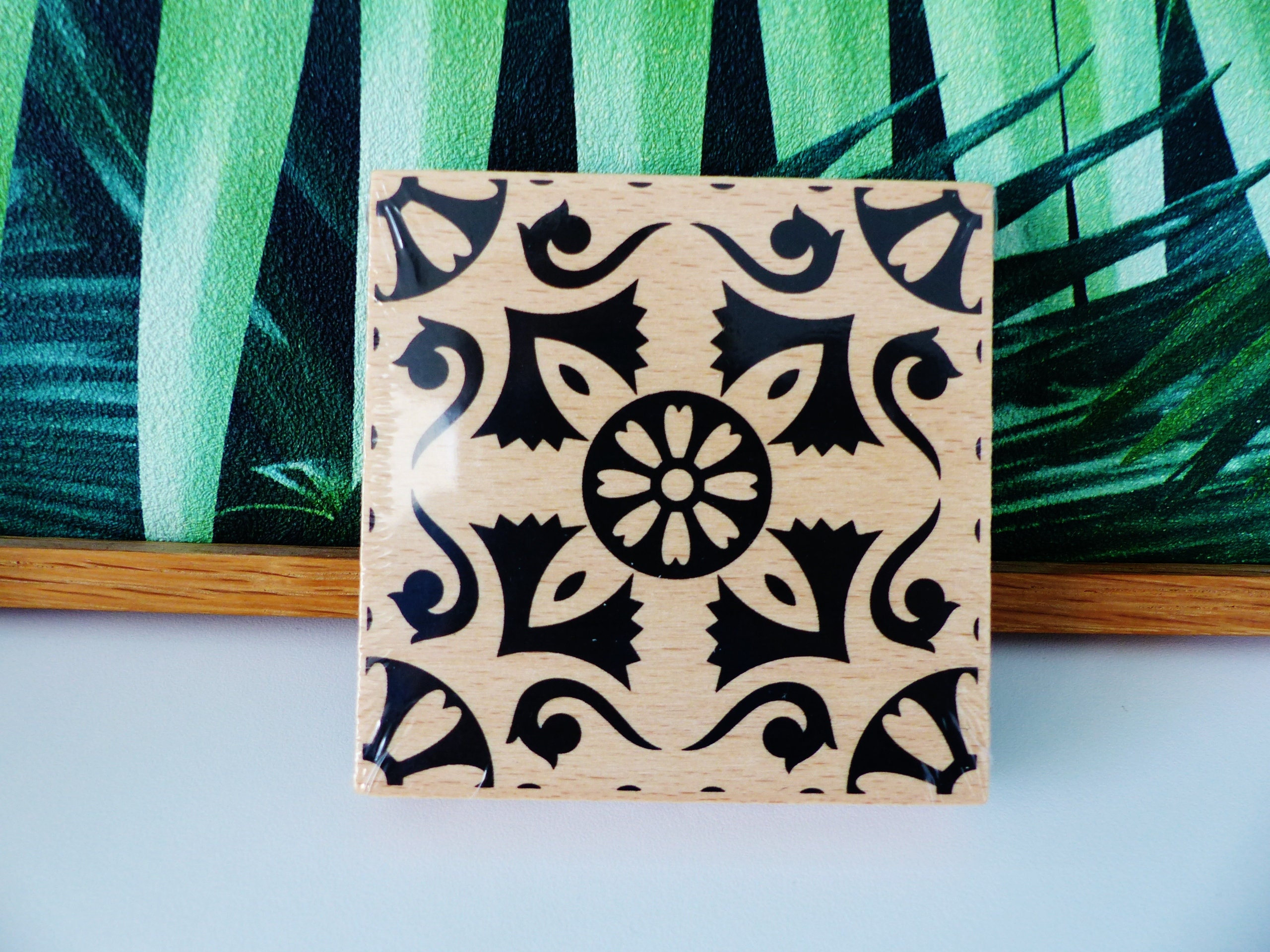 Wooden Stamp Many Styles Patters To Choose From Most Of Them Are New-!