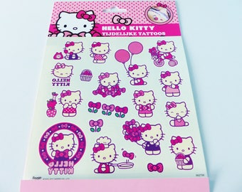 HELLO KITTY Temporary tattoos 19 temporary tattoo temporary tattoo
