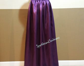 ON SALE Any color LONG slip skirt/ Underskirt/ Tutu lining (many colors available)