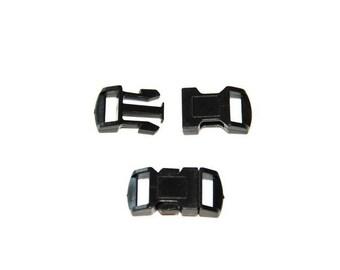 6414c05b8 Boucle attache rapide 10mm / Fermoir / Clip / plastique