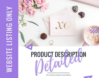 Website - Update your Copy on your Website with a Detailed Product Description Upgrade | Google SEO Rich Kewords with Great Call to Actions