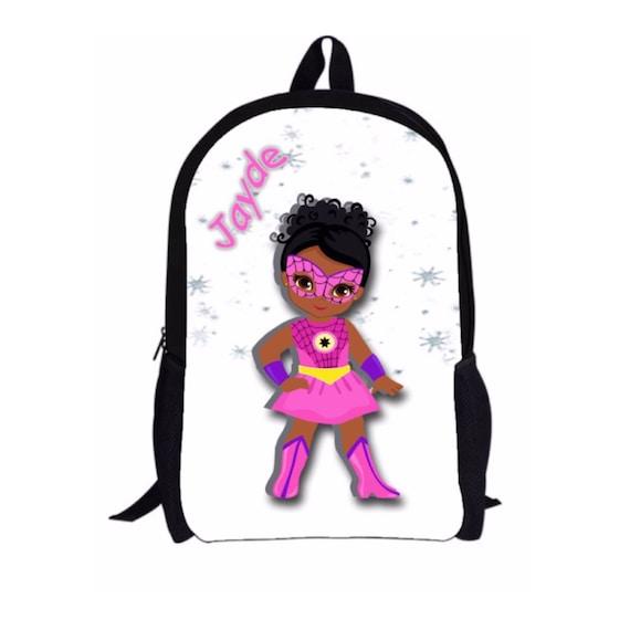 ... reputable site 4adf4 31501 JAYDE Style Melanin Black Girl Custom  Backpack with Optional ... 15f5c4c91f6aa