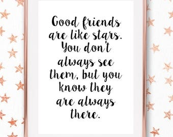 friendship quote etsy