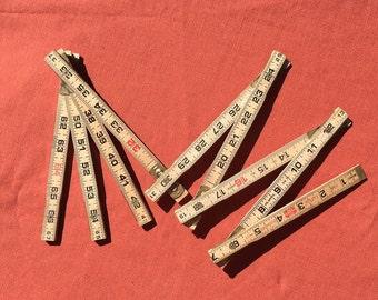 Vintage Wooden Lufkin Extension Ruler