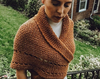 Outlander Inspired Shawl Wrap | Crochet PDF Pattern Shawl | Season 4 Knitted Shawl | Historical Costume | Claire's Wrap