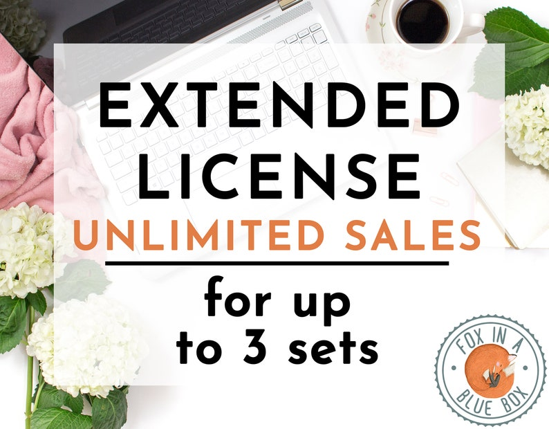 EXTENDED LICENCE UNLIMITED sales for up to 3 sets
