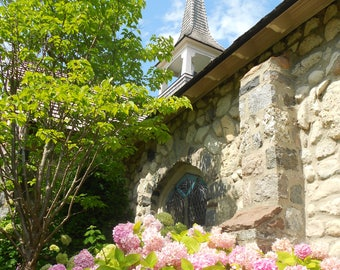 Mackinac Island Church - Nature Photography