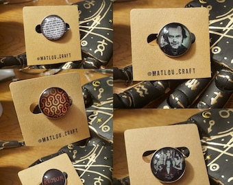 Stephen Kings The Shining inspired pins!