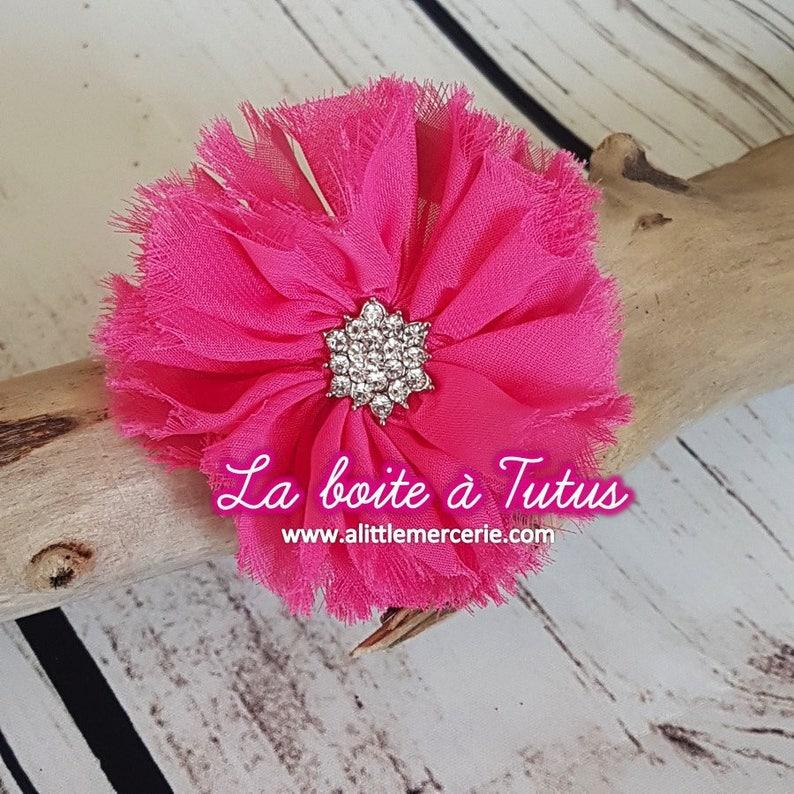 Tissu rouge fleurs diy colle sew on embellissement applique carte vêtement cheveux