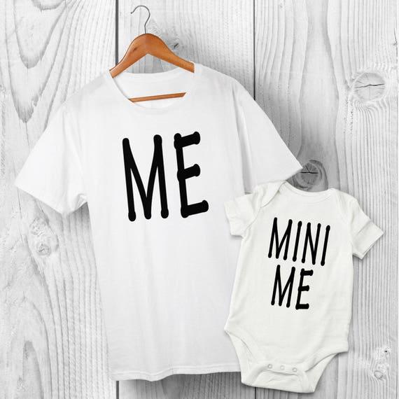 Super-Héros Sidekick-Père Fils Assortis T-Shirt Baby Grow-Papa Fils tshirt