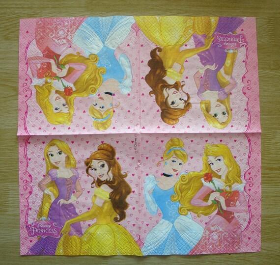 """Paper Napkins Lot 3 serviettes en papier /""""Pyramide de macarons/"""""""