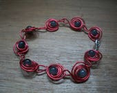 Aluminum wire red and pea...