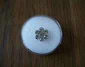 Rhinestone flower for per...