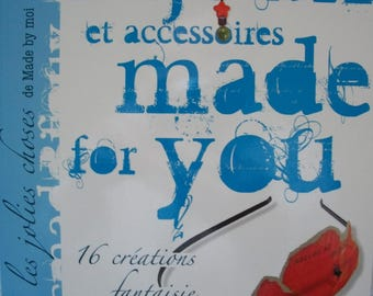 Book jewelry and accessories made for you