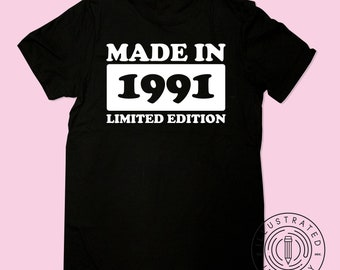 Original 1989 T-Shirt29th Birthday Gift TshirtVintage TshirtGift For He