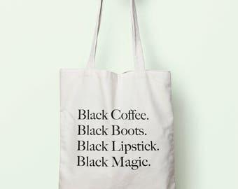 Coffee tote bag  4a0ef8bd04387