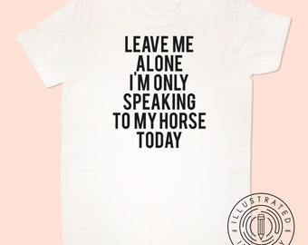 Leave Me Alone I/'m Only Talking To My Turtle Pet Womens T-Shirt