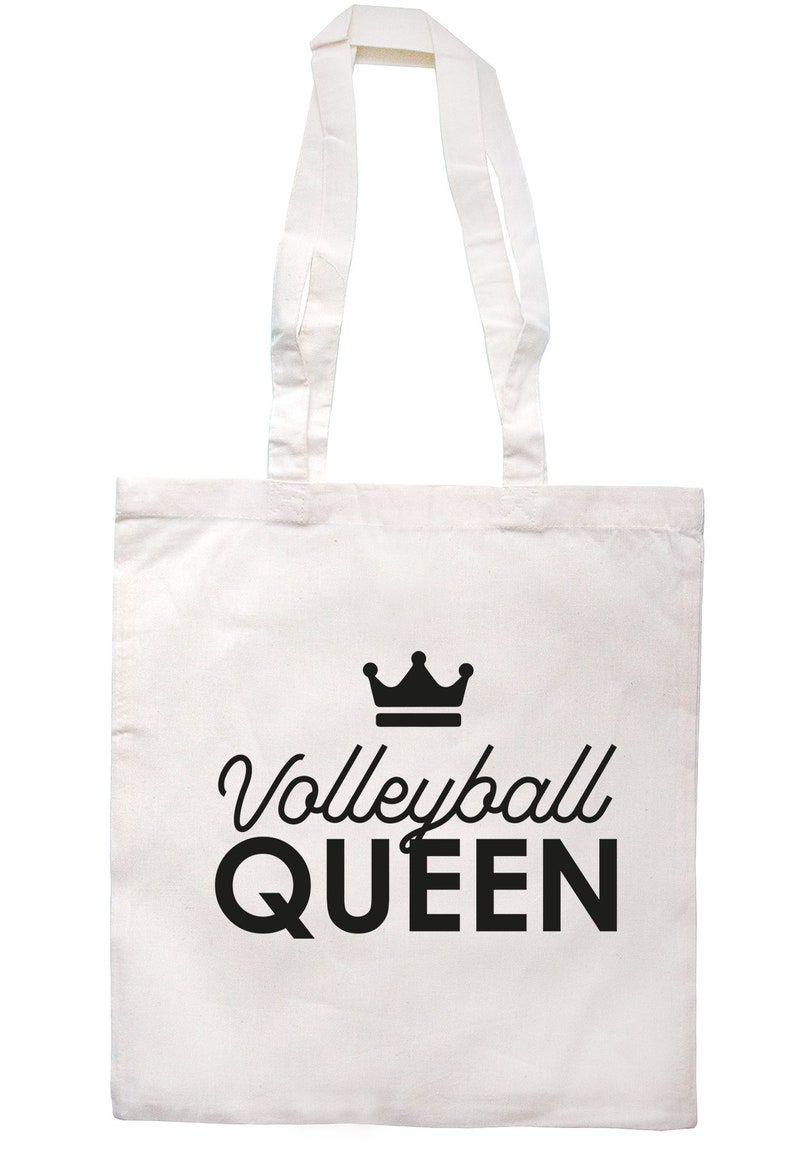 Volleyball Queen Tote Bag Long Handles TB2044