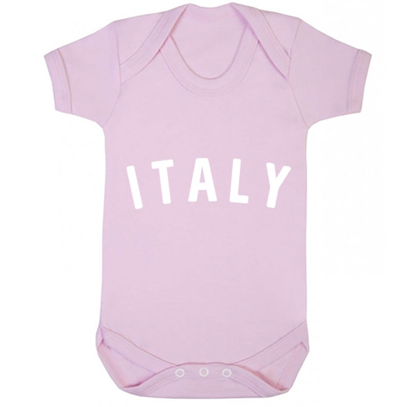 Italy Type unisex short sleeve baby vest babygrow K0910
