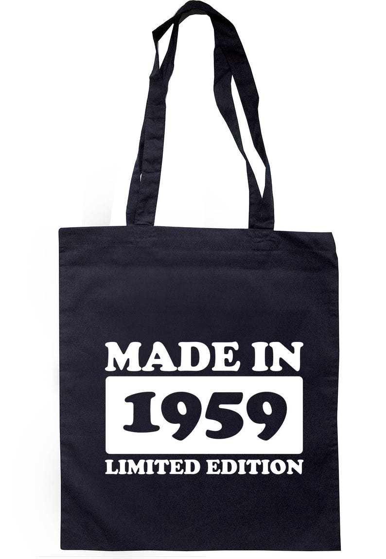 Made In 1959 Limited Edition Tote Bag Long Handles TB1722