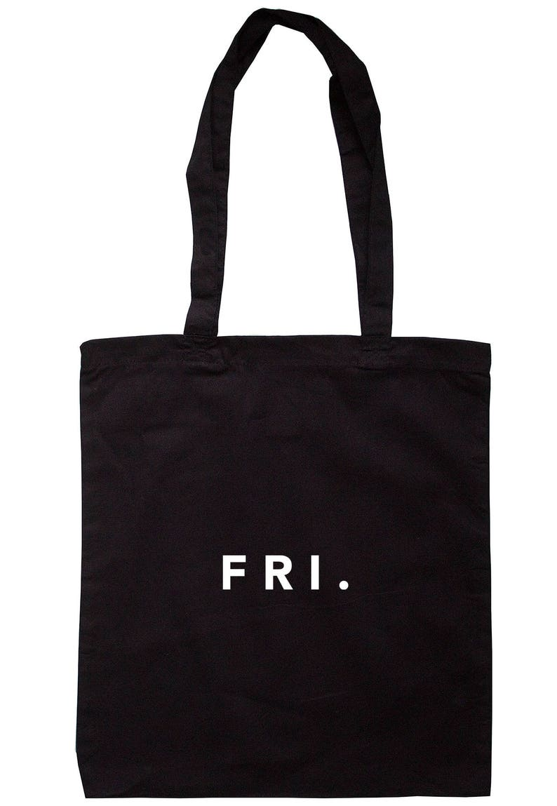 Friday Tote Bag Long Handles TB00629