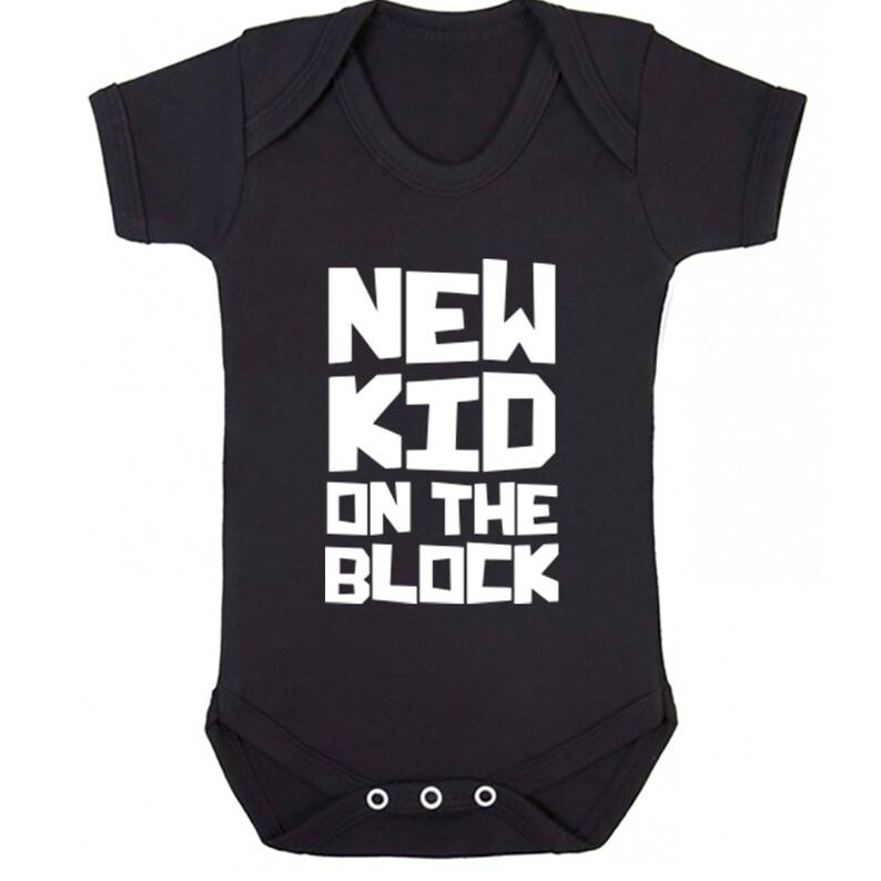 New Kid On The Block baby vest babygrow K0284