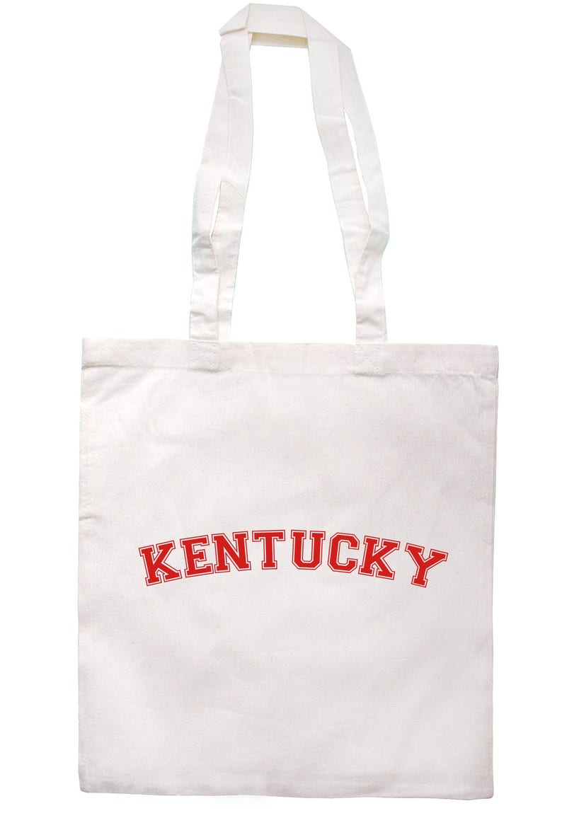 Kentucky Tote Bag Long Handles TB0885