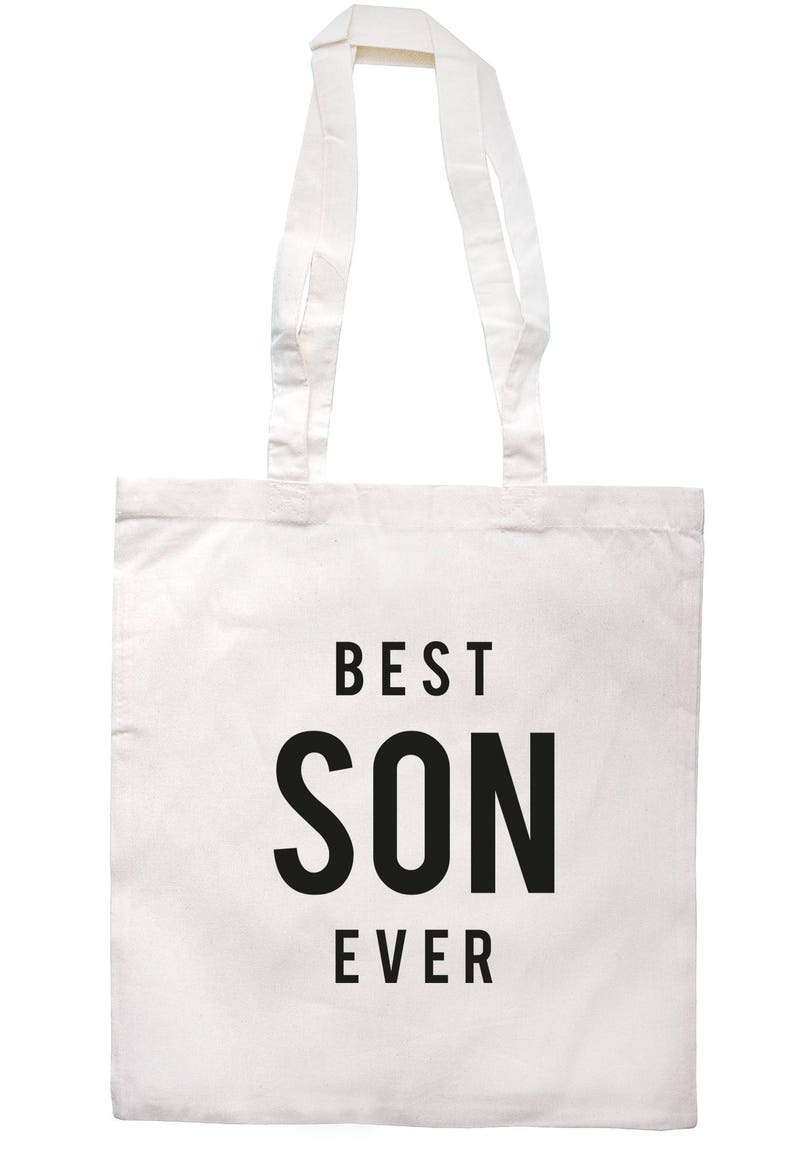 Best Son Ever Tote Bag Long Handles TB1246