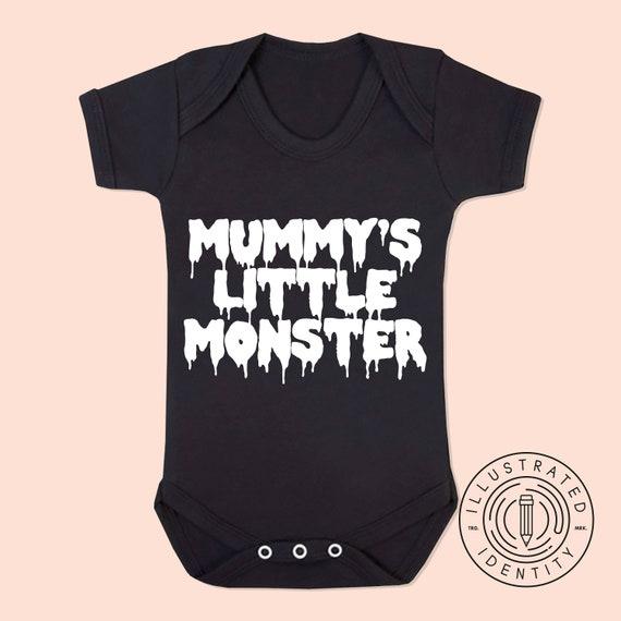a08edc116 Mummy s Little Monster baby vest babygrow K0340