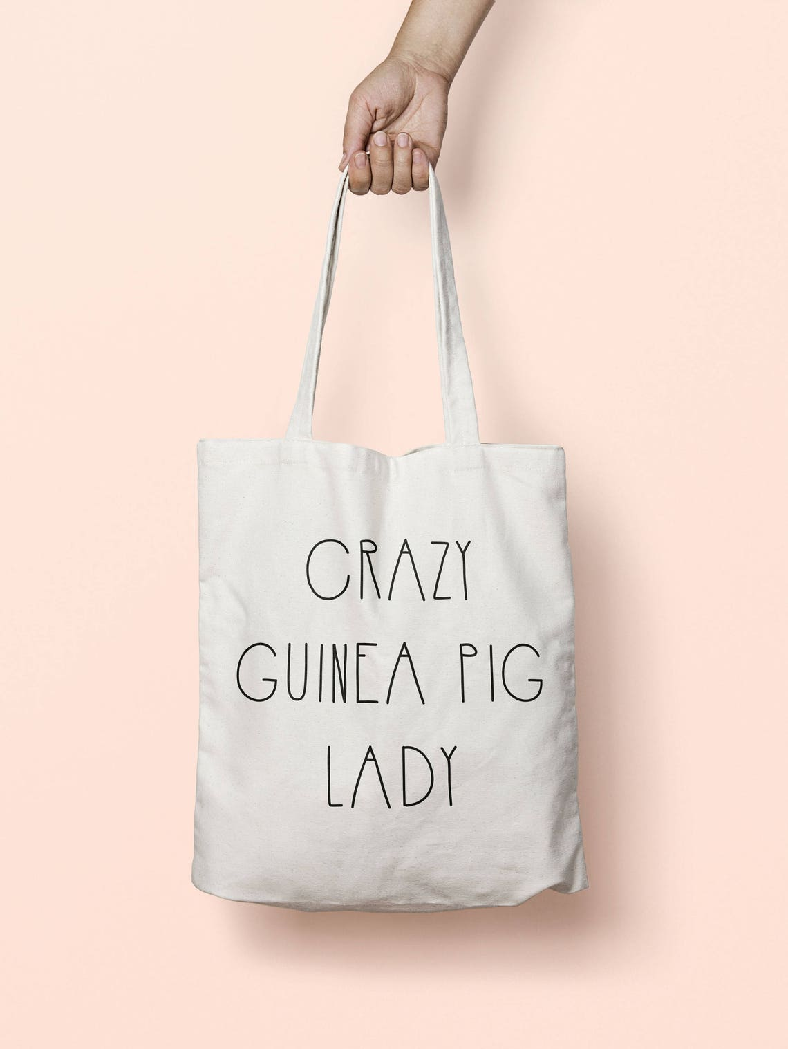 Crazy Guinea Pig Lady Bag