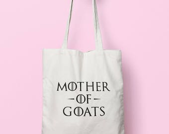 Mother Of Goats Tote Bag Long Handles TB0984