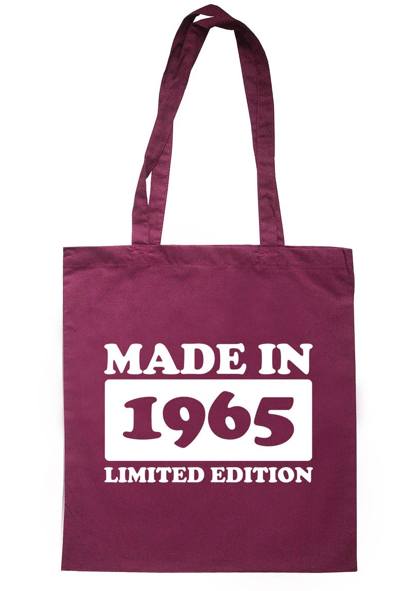 Made In 1965 Limited Edition Tote Bag Long Handles TB1728